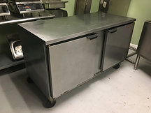 Beverage-Air Freezer Prep Table