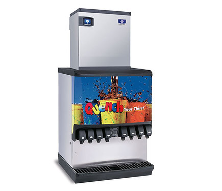 Manitowoc Ice/Beverage Series 820C Remote Ice Cube Machine