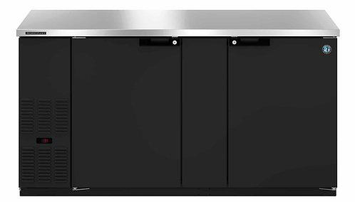Hoshizaki HBB-2-59, Refrigerator, Two Section, Black Vinyl