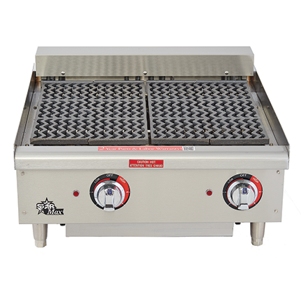 Star Star-Max® Radiant Electric Charbroilers