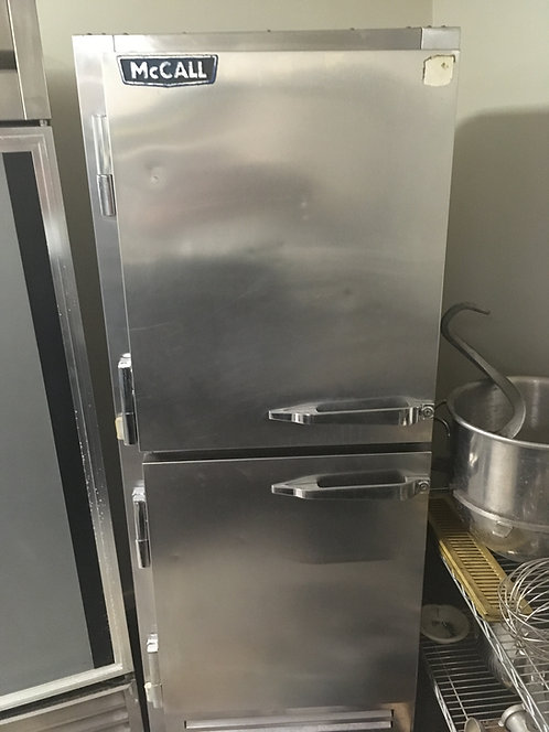 McCall Double Stack Cooler/Freezer Combo Reach-In