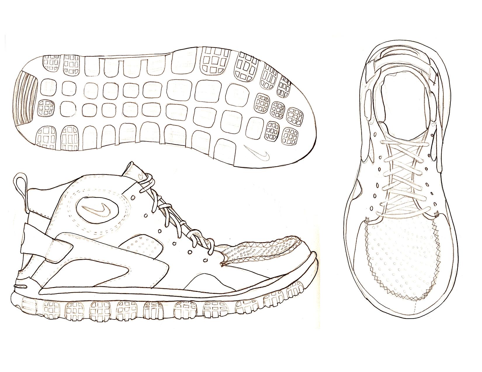 Footwear Doodle