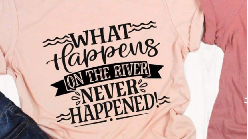 What happens on the river