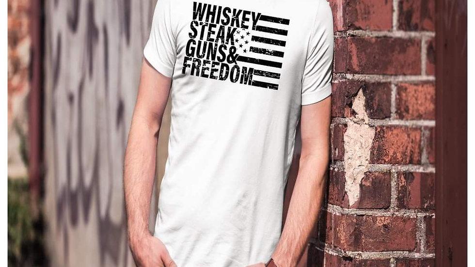 Whiskey steak guns