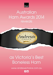 melbournes best ham boneless ham andrews choice christmas ham