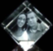 3D Crystal Photo Jewel Cube