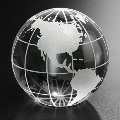 Galaxy Globe Paperweight