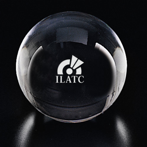 Gazing Ball Paperweight