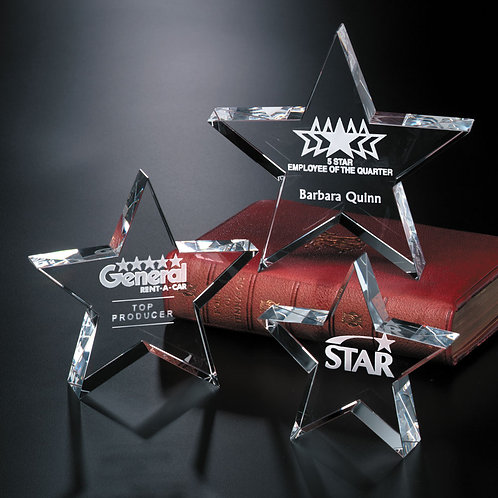 Tapered Star Paperweight
