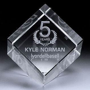 3D Crystal Jewel Cube