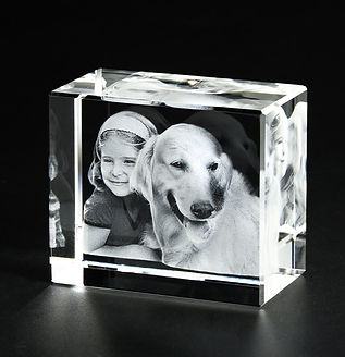 3D Crystal Photo Rectangle