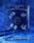 3D Crystal Block Award