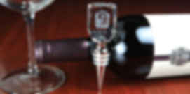 3D Crystal Rectangle Wine Stopper