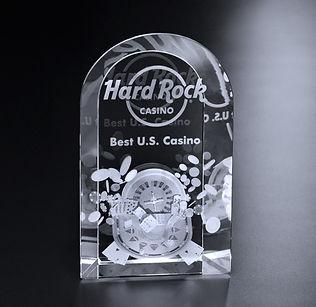 3D Crystal Loudoun Award
