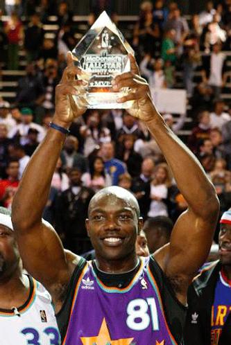 2009 NBA Celebrity All Star Game MVP Trophy Terrell Owens
