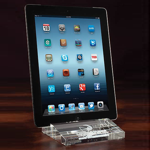 Crystal Tablet Holder