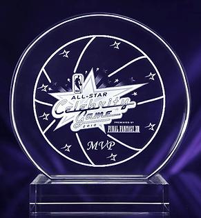 2010NBA Celebrity All Star GameMVP Trophy