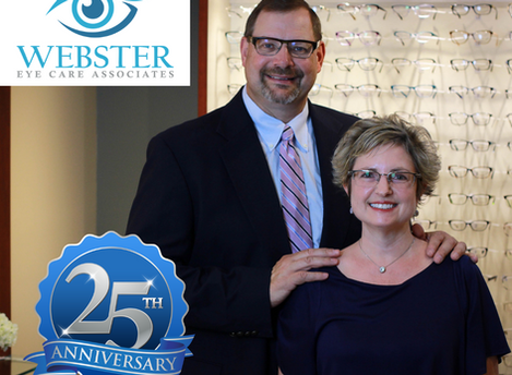 Webster Eye Care Associates Celebrates 25 Years In Business!