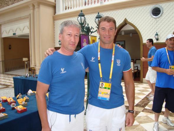 Con Antonio Rossi