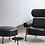 Thumbnail: Astair Chair & Ottoman (Green)