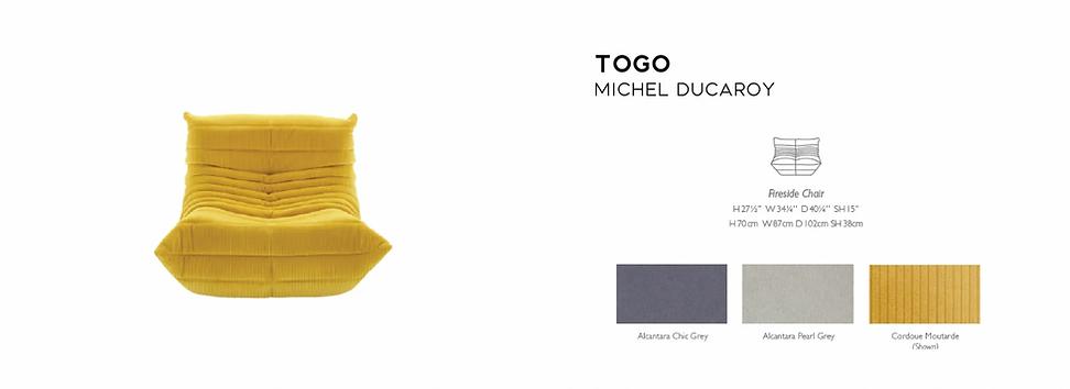 Togo Fireside Ducaroy