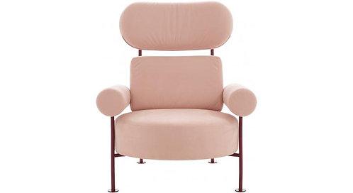 Astair Chair & Ottoman (Green)