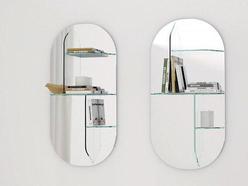 Millefeuille Mirror & Shelf