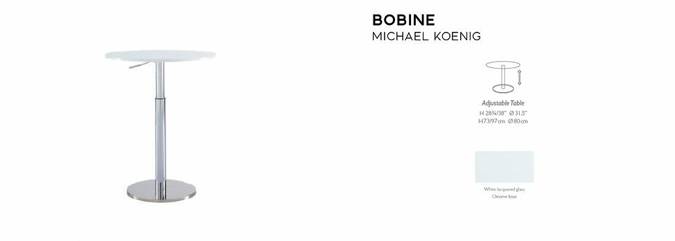Bobine Height Adjustable Table
