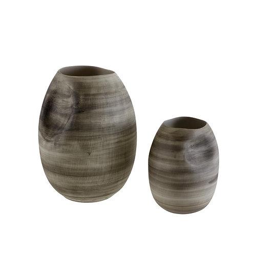 Pression Vase / Small Grey