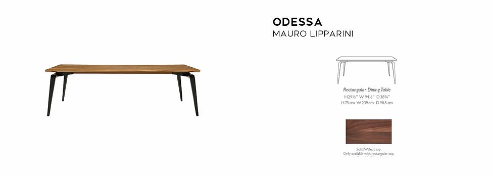Odessa Table Lipparini