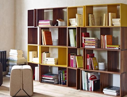 Cuts Bookshelf / Walnut