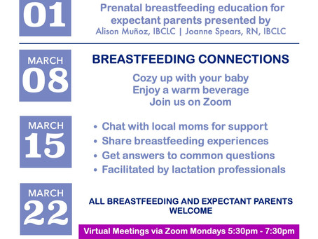 Fairbanks BabyCafe presents Preparing to Breastfeed class