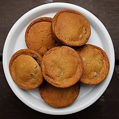 6 Chocolate Chip MunchCakes