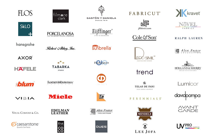 Brands Diaz de Luna, Interior Design