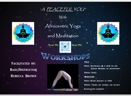 Yoga and Meditation Workshops