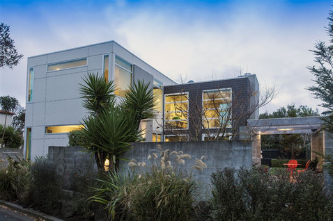 Medonica New Home Build Architecture - Wynyard Design Studio, NZ