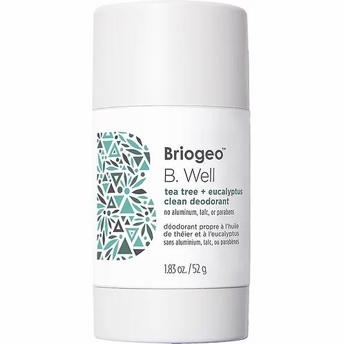 Briogeo B. Well Tea Tree and Coconut Clean Deodorant 52g