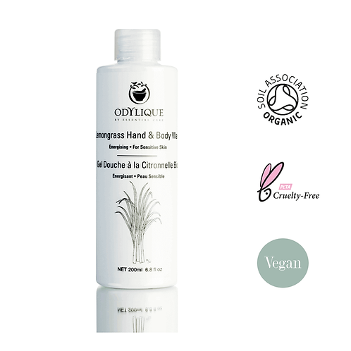 Odylique Lemongrass Body Wash 200ml