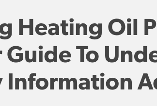 Factors Affecting Heating Oil Prices
