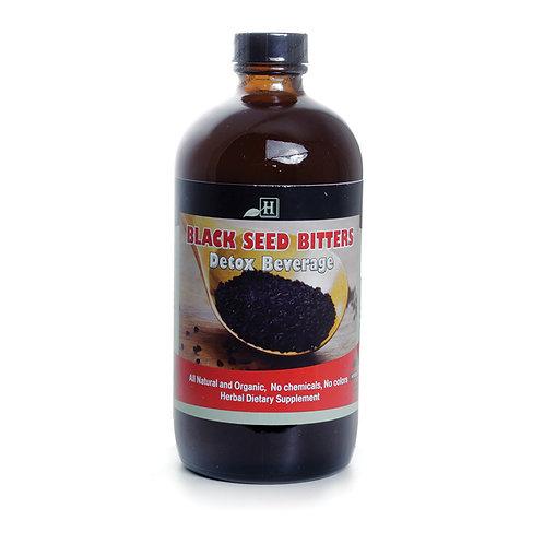 Black Seed Bitters Detox Beverage
