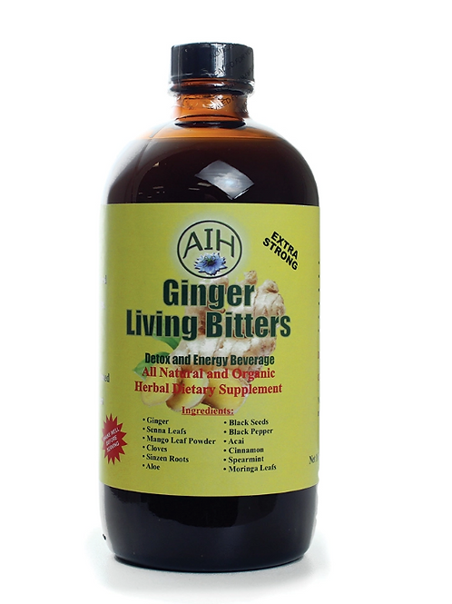 AIH Ginger Living Bitters