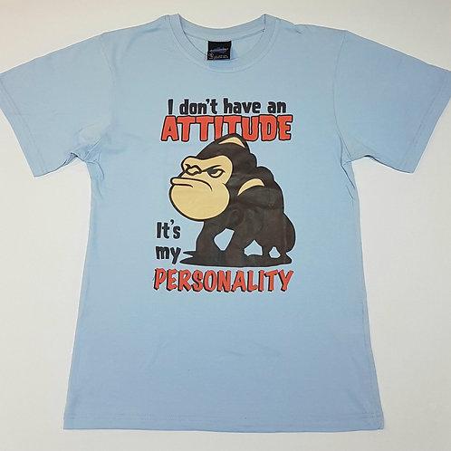"""Unisex Souvenir 100% cotton Australia Funny T-shirt """"I don't have an attitude"""""""