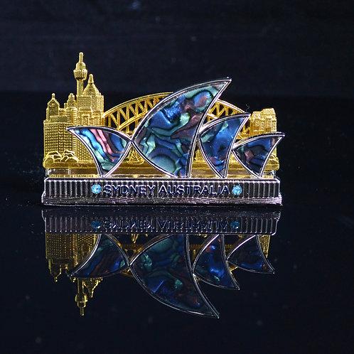 Opera House Sydney Business Card Holder Souvenir Gift Friends Family Cli
