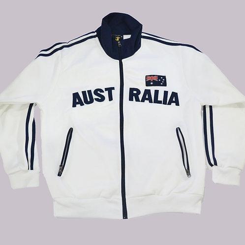 Adult Australia Au Flag Zip-Up Jumper- (Pre-order)