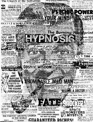 "SubGenius Hypnosis Collage ""BOB"" DOBBS T-Shirt"