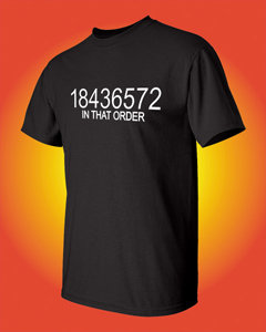 18436572 IN THAT ORDER - Old Chevy V8 T-Shirt