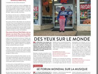 EXPOSITION NOVEMBRE A LA BELLEVILLOISE (30 Octobre - 30 Novembre 2019
