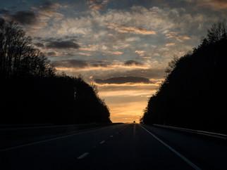 ROUND TRIP April = West Virginia, Kentucky, Kansas, Arkansas, Oklahoma, Texas, New Mexico, Colorado,