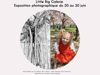 """Exposition photographique a """"Little Big Galerie"""" - 45 rue Lepic a Paris 18, du 20 au 30 ju"""