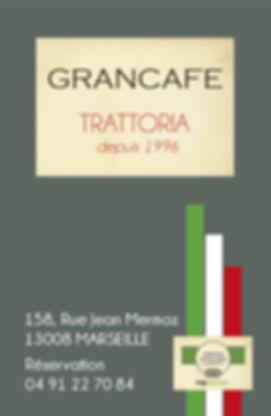Restaurant Le Gran Café, 158 rue Jean Me